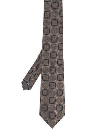 Gianfranco Ferré Pre-Owned Slips med geometrisk flisetryk fra 1990