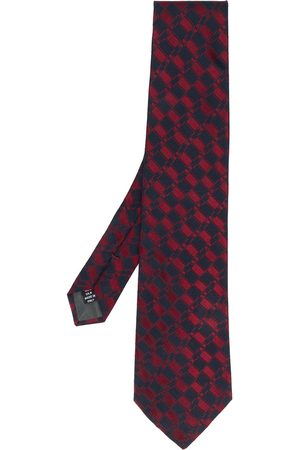 Gianfranco Ferré Slips med geometrisk mønster fra 1990