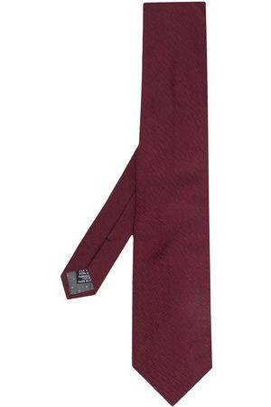 Gianfranco Ferré Vævet slips med zigzag-mønster fra 1990