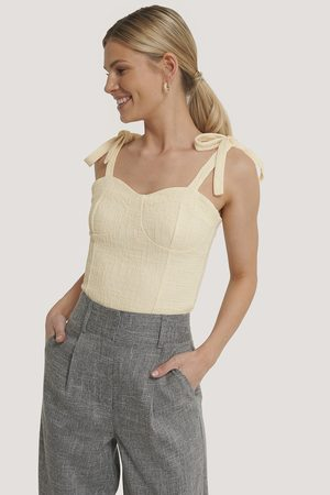 NA-KD Bustier Knot Top