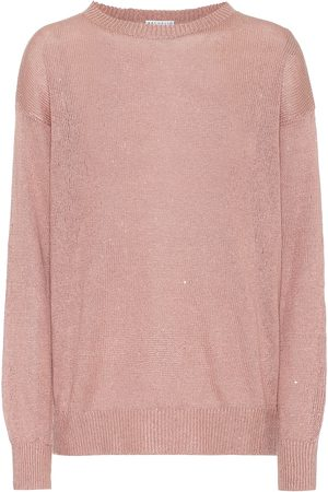 Brunello Cucinelli Exclusive to Mytheresa – Linen and silk sweater