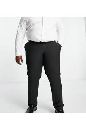 ASOS Sorte smalle smarte bukser fra Plus