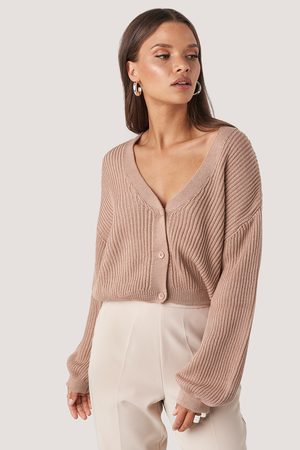 NA-KD Volume Sleeve Cardigan