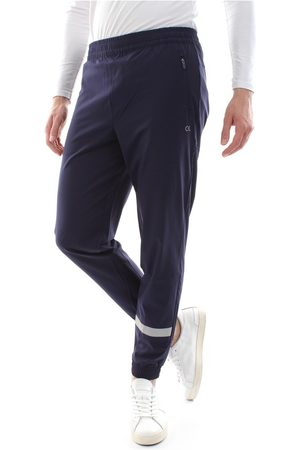 Calvin Klein CK PERFORMANCE 00GMF8P614 WOVEN PANT PANTS LONGWEAR Men blue