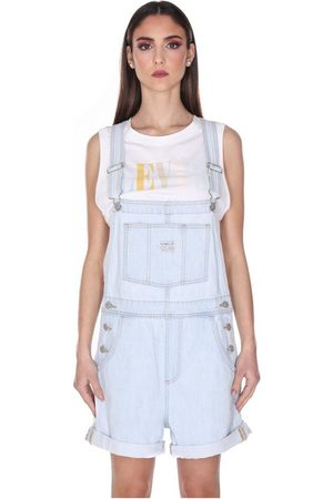 Levi's LEVIS 52333 0013 VINTAGE SHORTALLS SALOPETTE Women DENIM LIGHT BLUE