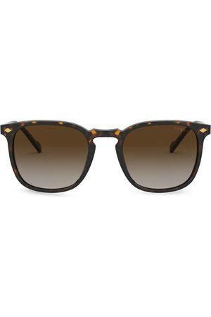 vogue Mænd Solbriller - Firkantede solbriller med skildpaddeeffekt