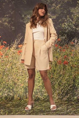 NA-KD Kvinder Shorts - Linen Look Shorts