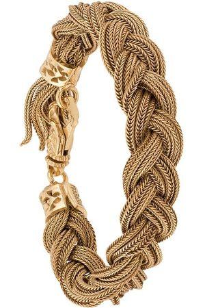 EMANUELE BICOCCHI Woven strap bracelet