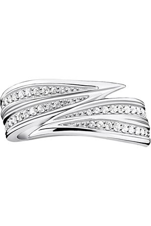 Thomas Sabo Ring Leaves Silver Ring Smykker