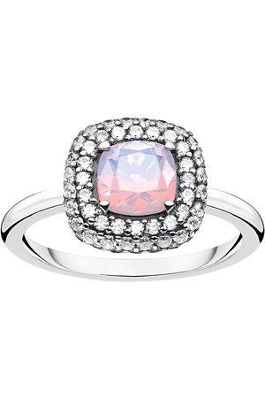 Thomas Sabo Ring Shimmering Pink Opal Colour Effect Ring Smykker