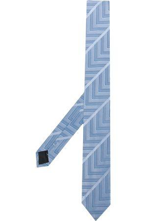 Gianfranco Ferré Slips med geometrisk mønster fra 1990'erne