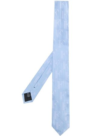Gianfranco Ferré Stribet slips med præget logo fra 90'erne