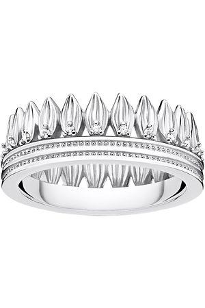 Thomas Sabo Ring Leaves Crown Silver Ring Smykker