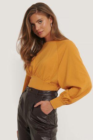 NA-KD Kvinder Sweatshirts - Oversized Raglan Sleeve Sweater