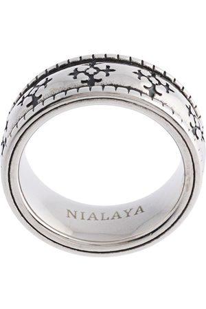 Nialaya Jewelry Emalje-ring