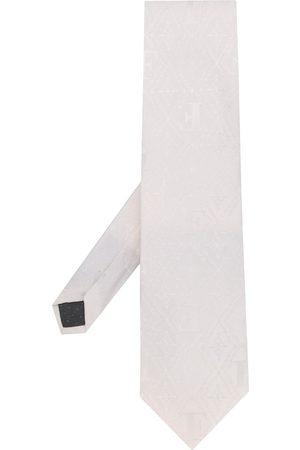 Gianfranco Ferré Vævet slips med logo