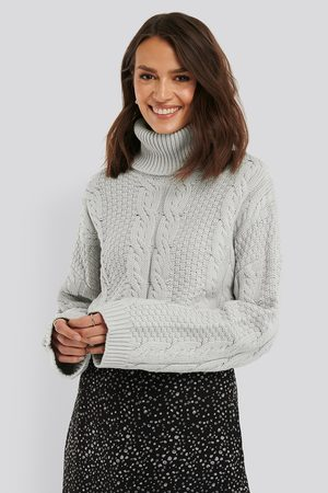NA-KD High Neck Knitted Sweater