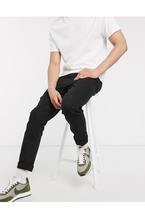 New Look Sorte slimfit-jeans fra