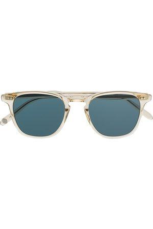 GARRETT LEIGHT Firkantede aviator-solbriller