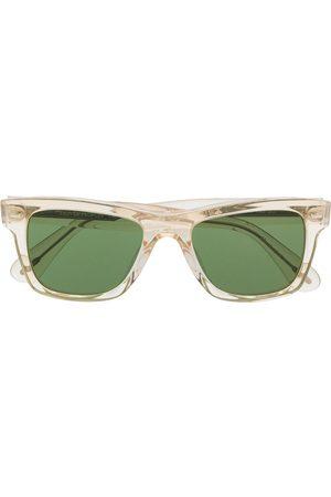 Oliver Peoples Tonede solbriller med firkantet stel