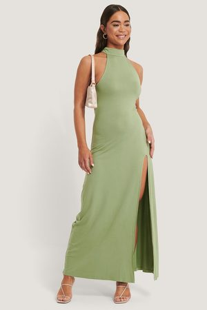 NA-KD Kvinder Maxikjoler - High Neck Maxi Dress