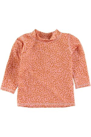 Soft Gallery Bluser - Badebluse - UV50+ - Rose Cloud m. Leopard