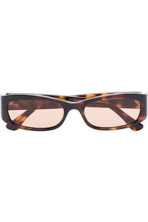 PORT TANGER Mænd Solbriller - Brune Leila solbriller med skildpaddeeffekt