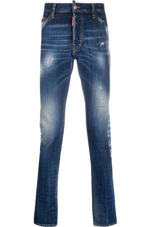 Dsquared2 Skinny-jeans med tryk