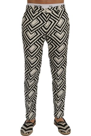 Dolce & Gabbana Linen Casual Pants