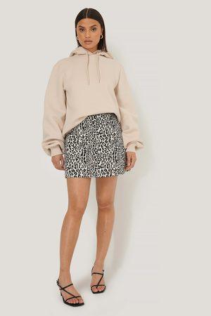 NA-KD Leopard Print Mini Skirt