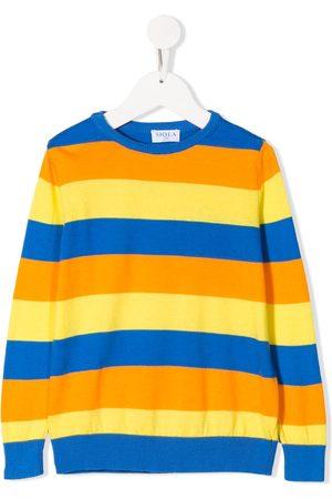 SIOLA Strik - Striped crew-neck jumper