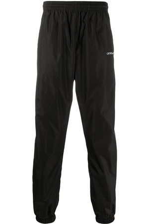 OFF-WHITE Mænd Joggingbukser - BOOKISH OW NYLON TRACKPANT BLACK WHITE