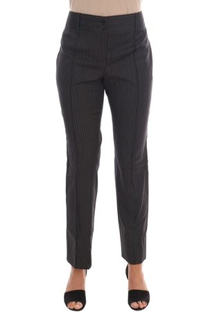 Dolce & Gabbana Wool Stretch Slim Pants