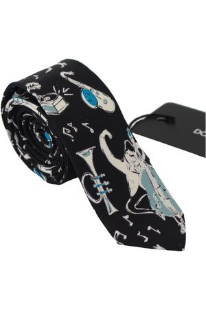Dolce & Gabbana Silk Musical Isntrument Classic Tie