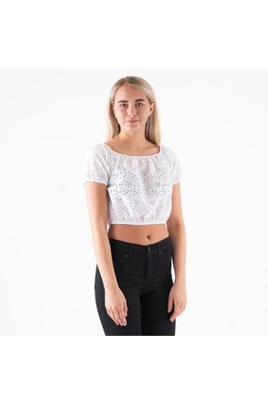 Pieces Pcmammea ss long crop top