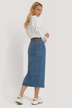 Levi's Kvinder Pencil nederdele - Button Front Midi Skirt