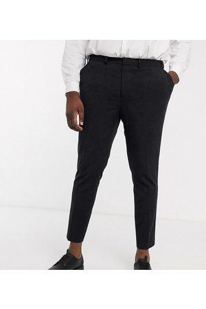 ASOS Sorte smarte cropped bukser i superskinny pasform fra Plus