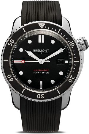 Bremont S500 sort 43mm ur