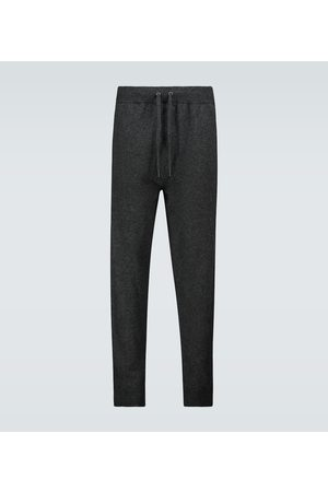 DEREK ROSE Finley cashmere trackpants