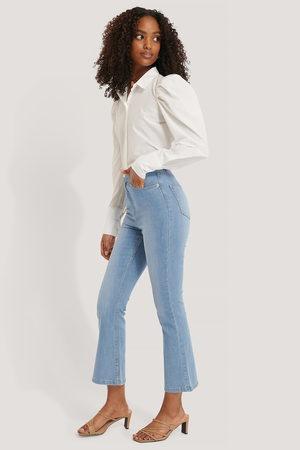 NA-KD Kick Flare Skinny Jeans