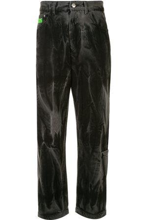 GCDS Jeans med lige ben og vasket effekt