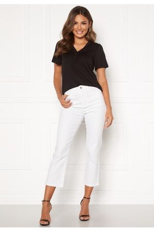 Happy Holly Maja high waist jeans White 38