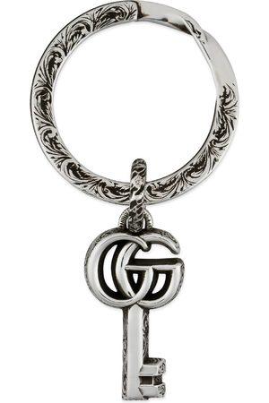 Gucci Ure - Double G keychain
