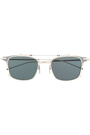Thom Browne Solbriller - TB817 Iron Clubmaster solbriller