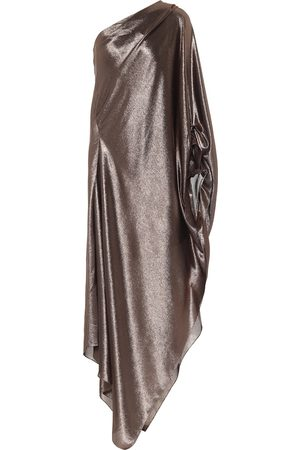 Roland Mouret Exclusive to Mytheresa – Ritts one-shoulder silk-blend draped gown