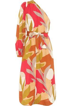 Rebecca Vallance Kvinder Mønstrede kjoler - Sangria printed midi dress