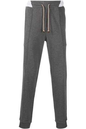 Brunello Cucinelli Stripe detail track pants