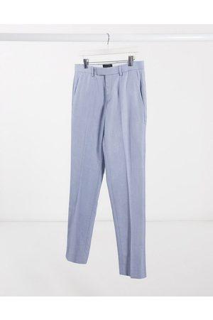 River Island Mænd Chinos - — Lyseblå bukser med smal pasform