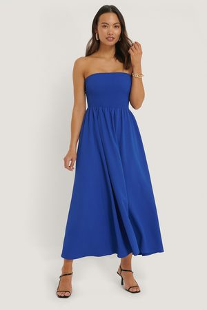 NA-KD Off Shoulder Midi Dress