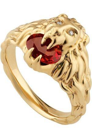 Gucci Diamantring i 18 karat med løvehoved